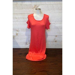 NWT Coral Cold Shoulder Bodycon Dress Size 1X